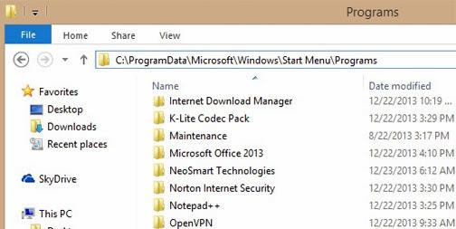 Tùy biến trang Start Menu của riêng Windows 8.1