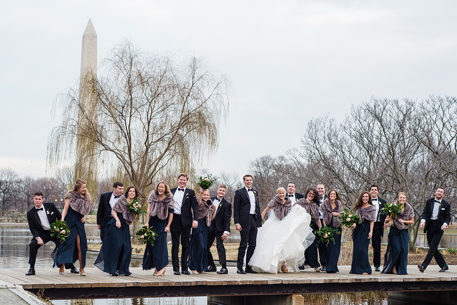 Washington Monument - DC Wedding Photography