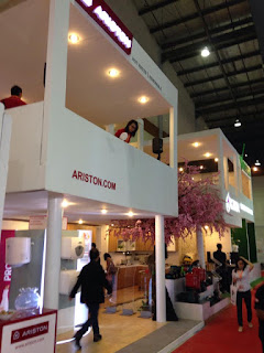 kontraktor pameran stand event design Ariston