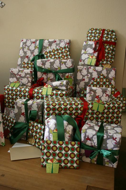 Christmas presents 2009
