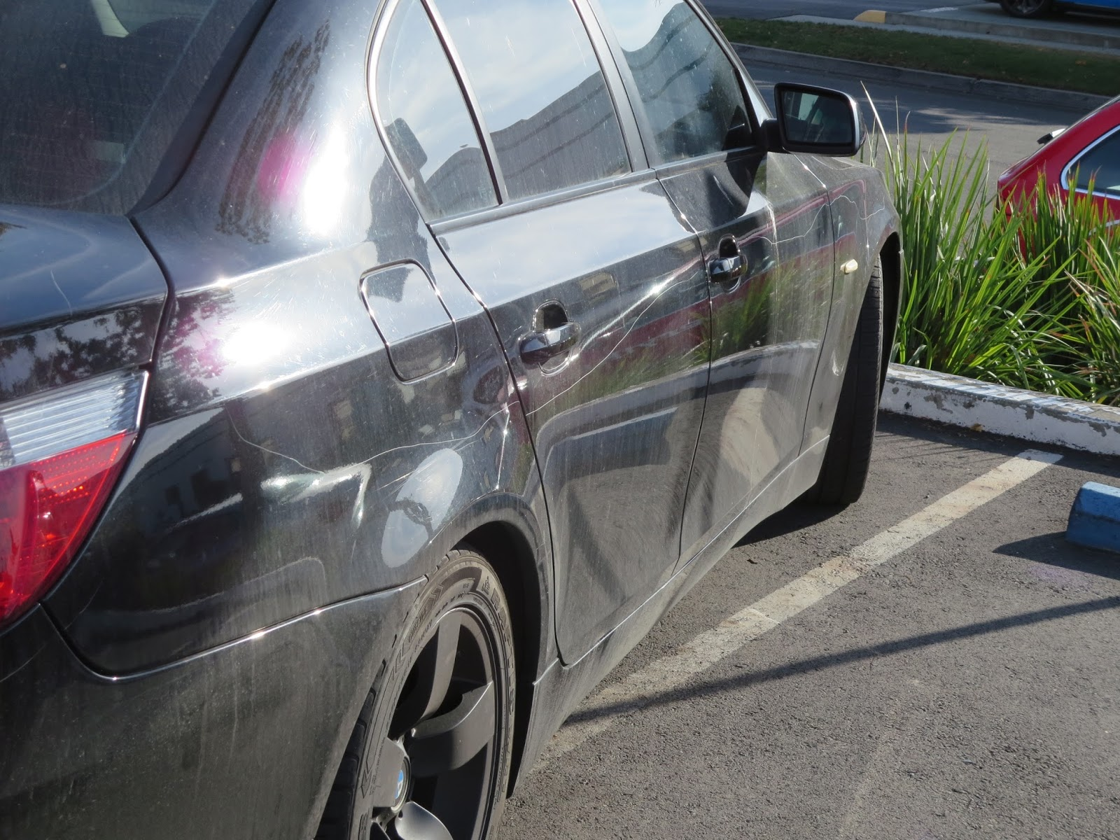 how to fix a keyed car paint