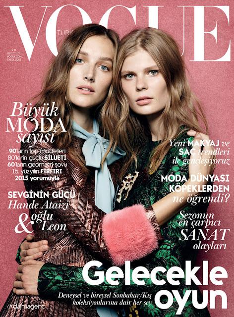Model @ Joséphine Le Tutour , Alexandra Ljadov by Liz Collins for Vogue Turkey, September 2015