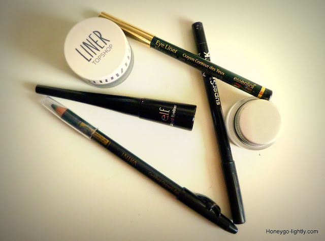 black eyeliners