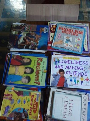 SFBC Book Drive Donating Children books to Paung De