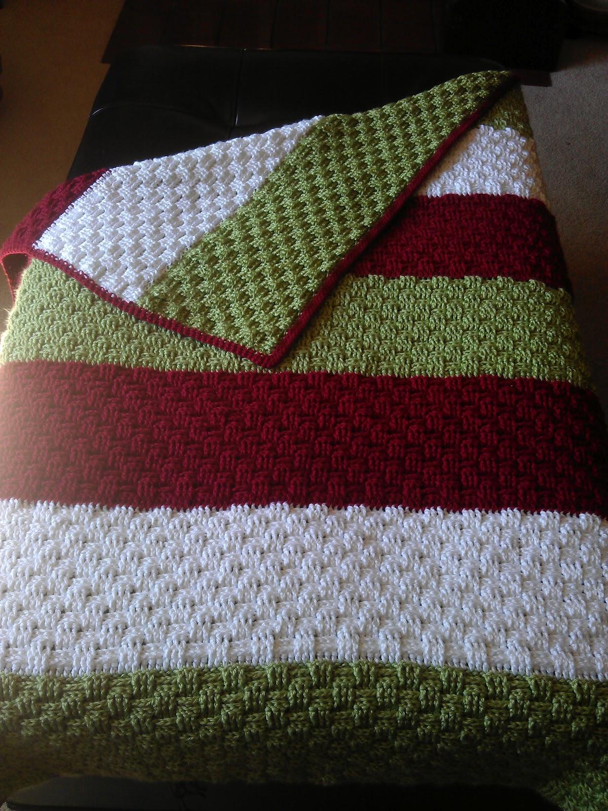 Basket Weave Afghan Crochet Pattern : Tiny Pushes: A Carolina Crochet Project