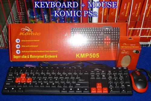 KEYBOARD MOUSE KOMIC PS2
