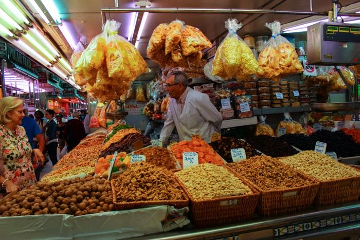 Valencia, Spain--Central Market