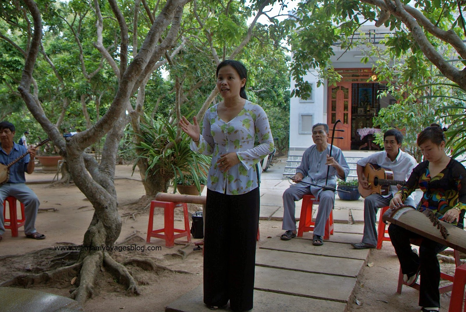Voyage chez l'habitant au Vinh Long - Groupe Mr Gilles
