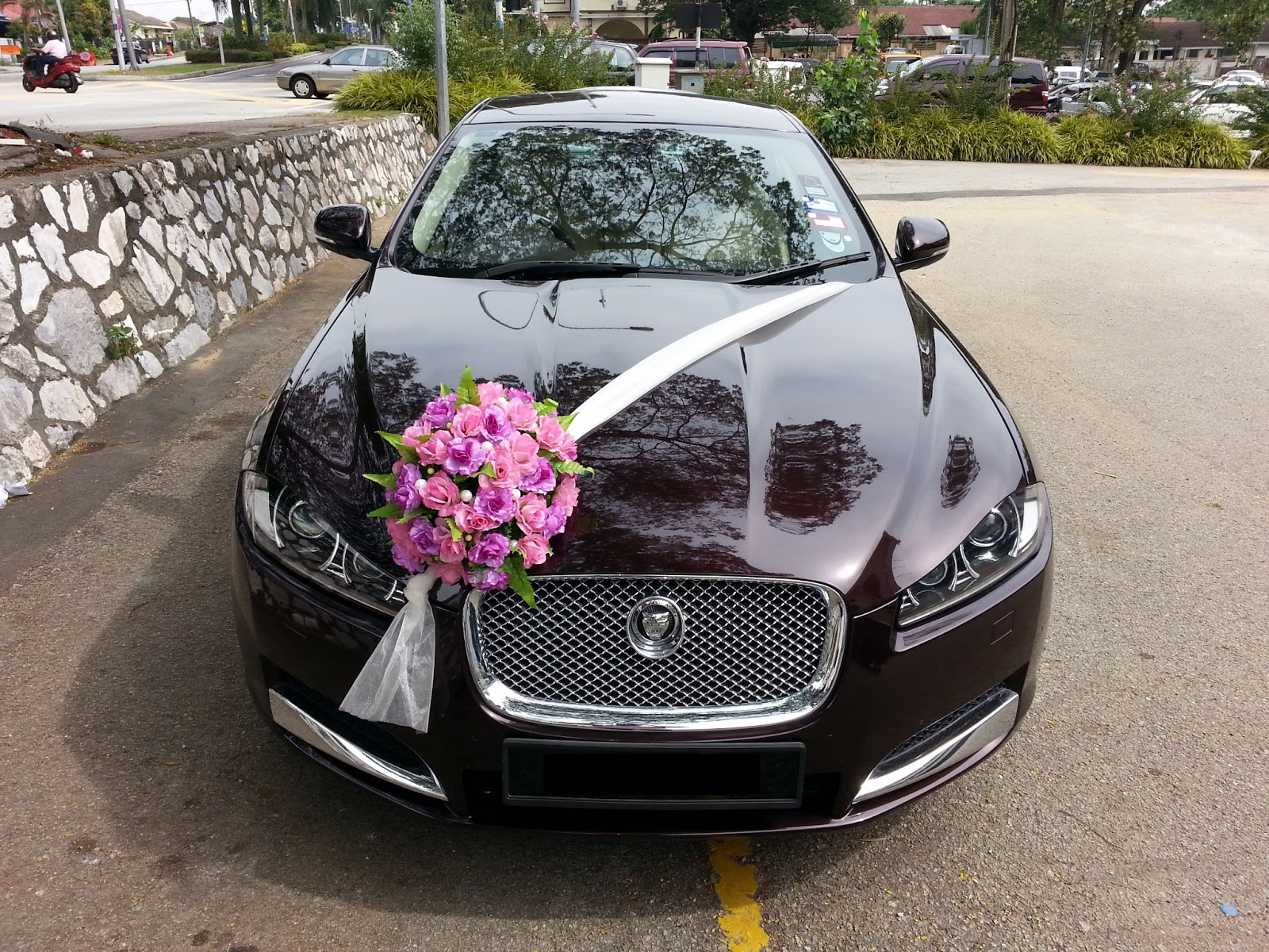 Redorca malaysia wedding and event car rental jaguar for Automobile decoration