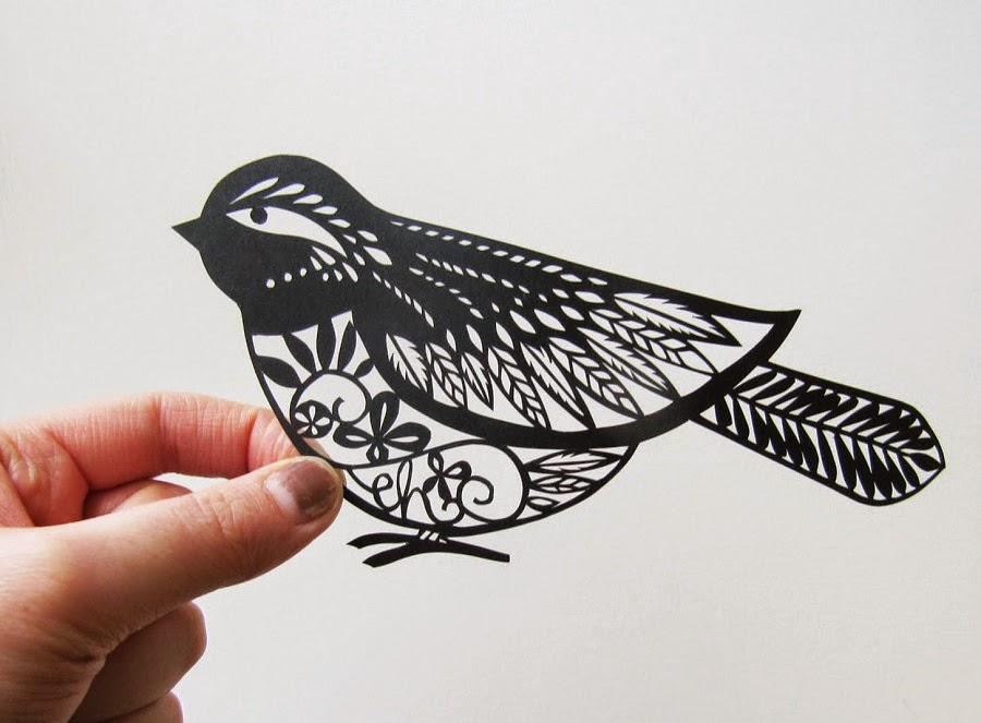 Simply Creative Papercuts By Emily Hogarth