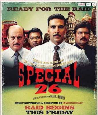 Poster Of Bollywood Movie Special 26 (2013) 300MB Compressed Small Size Pc Movie Free Download worldfree4u.com