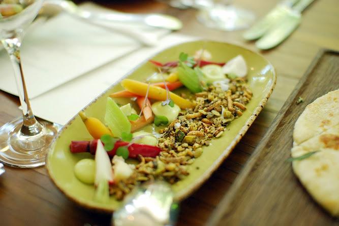 Chiswick Restaurant NSW Collective Menu Pickled vegetables Dukkah