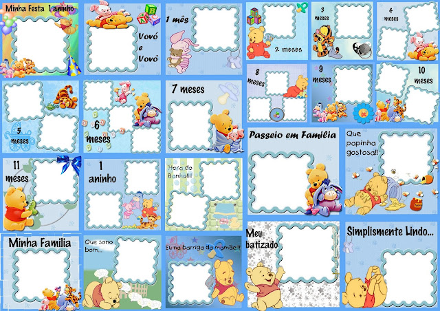 Winnie the Pooh: Album de Fotos del Primer Año.