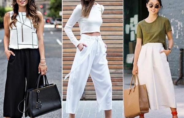 Culotte-pantolonlar
