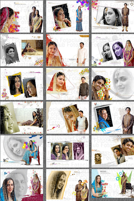Indian Wedding Album Templates - Karizma Album