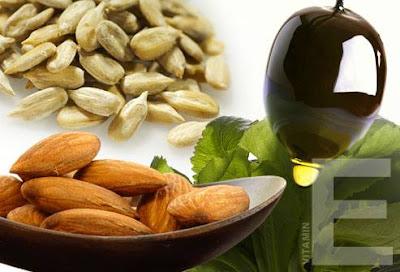 Vitamin e sangat berkhasiat untuk kesuburan wanita dan lelaki.