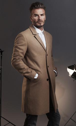 Esenciales modernos H&M David Beckham Kevin Hart moda masculina abrigo