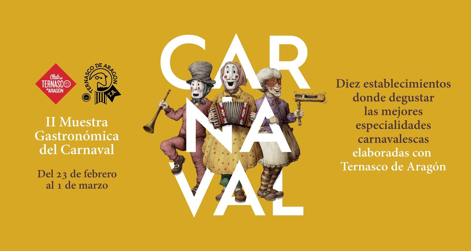 Carnaval con TERNASCO DE ARAGÓN