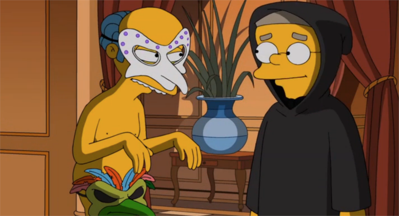 The Simpsons and Stanley Kubrick - Eyes Wide Shut