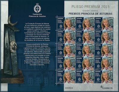 Pliego Premium Premios Princesa de Asturias