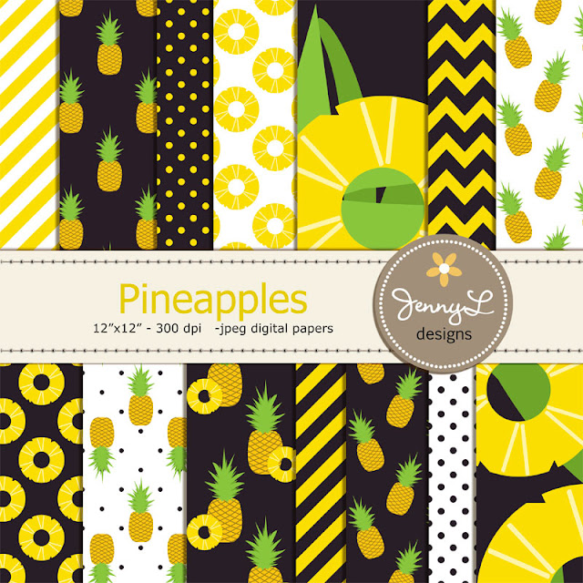 https://www.etsy.com/listing/248545808/pineapples-digital-papers-pineapple?