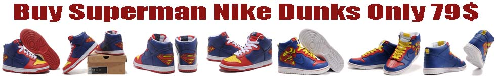 Superman Nike Dunks