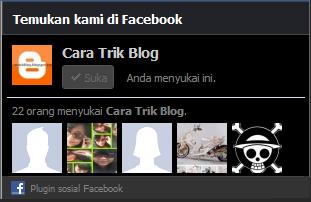 Gambar halaman facebook
