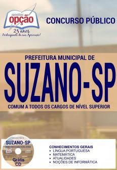 Apostila Concurso Prefeitura de Suzano - SP - Nível Superior - 2016