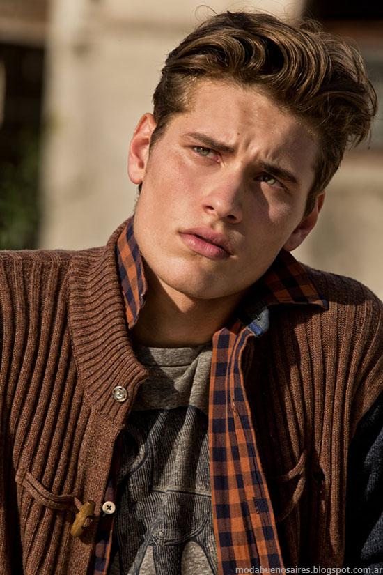 Tannery moda invierno 2015 hombres.