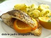 Kapor na pomarančoch - recept