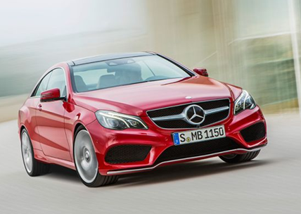 red colour 2014 mercedes benz e-class cabriolet