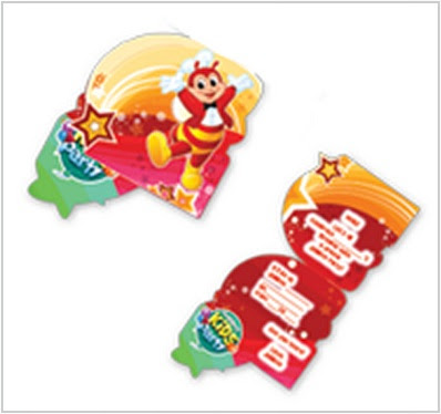 Jollitown theme invitation cards