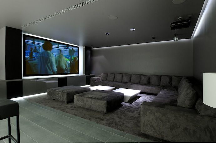 World of architecture 16 simple elegant and affordable home cinema room ideas Modern home theater design ideas