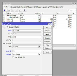 How To Setup VLAN Trunk Using Bridge on Mikrotik Router