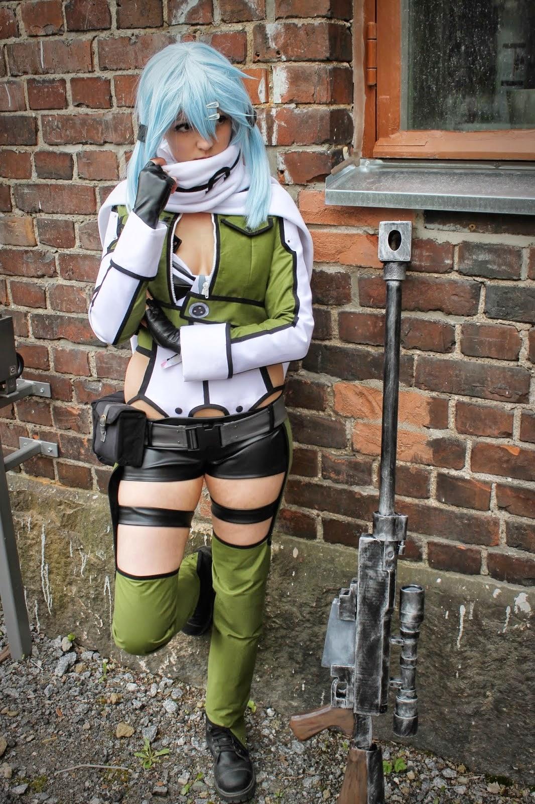 Foto Cosplay Sinon (Sword Art Online II) 02