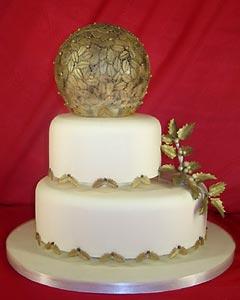 Christmas Wedding Cake Designs | MEHNDI-DISIGNS