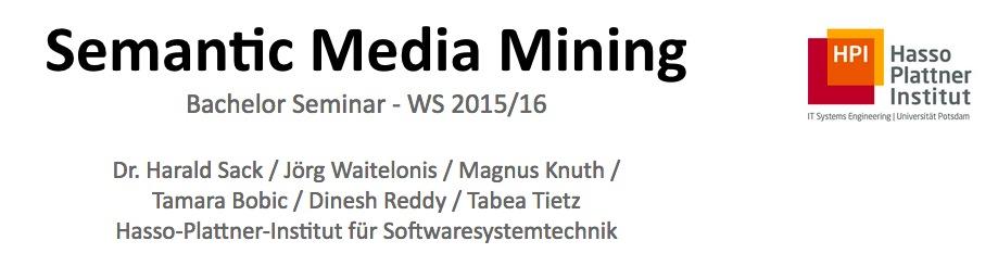 Semantic Media Mining