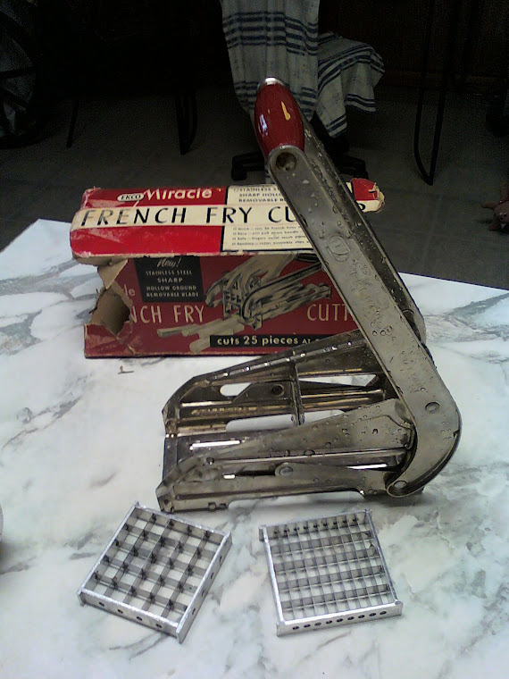 Homemade French Fry Maker with Box