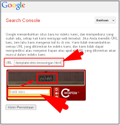 Submit Url ke Google dan Bing Dengan Mudah