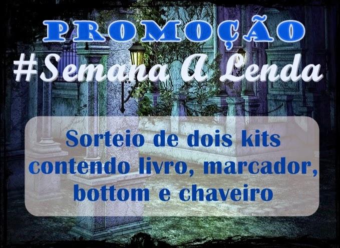 Promoção, Semana A Lenda, A Grande Aventura, Luiz Amato, sorteio, livro, Amazon, Dan Brown