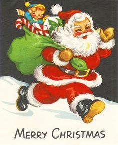 Imágenes de Navidad con Santa