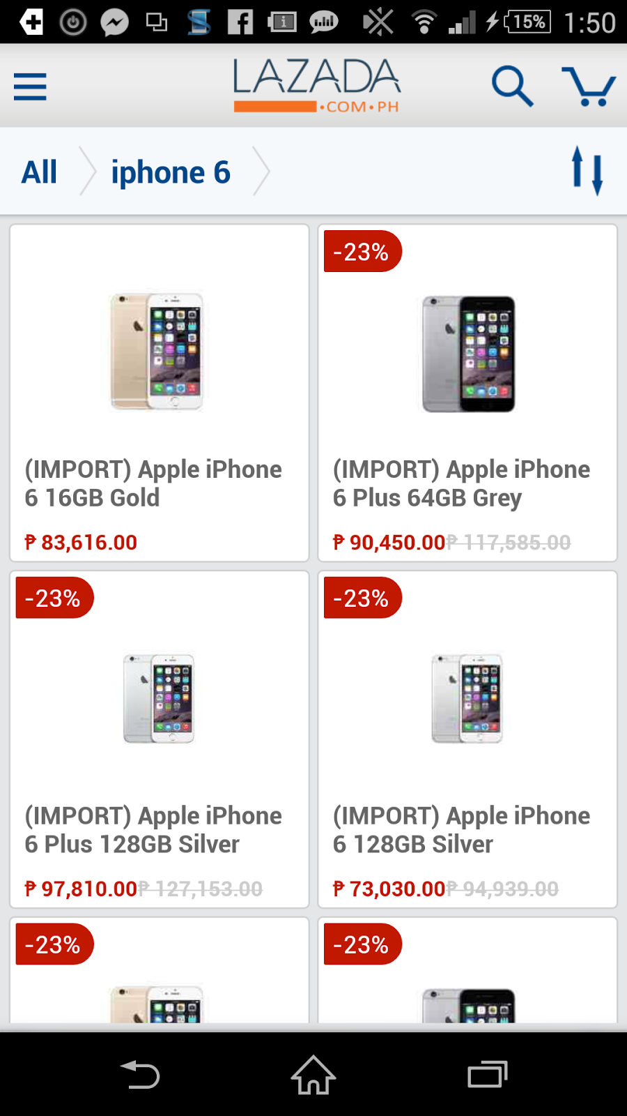 Apple iPhone 6 Lazada