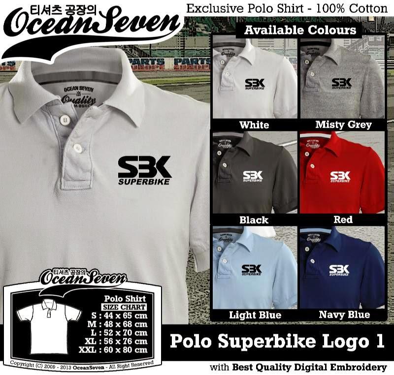 Kaos Polo Superbike Logo 1
