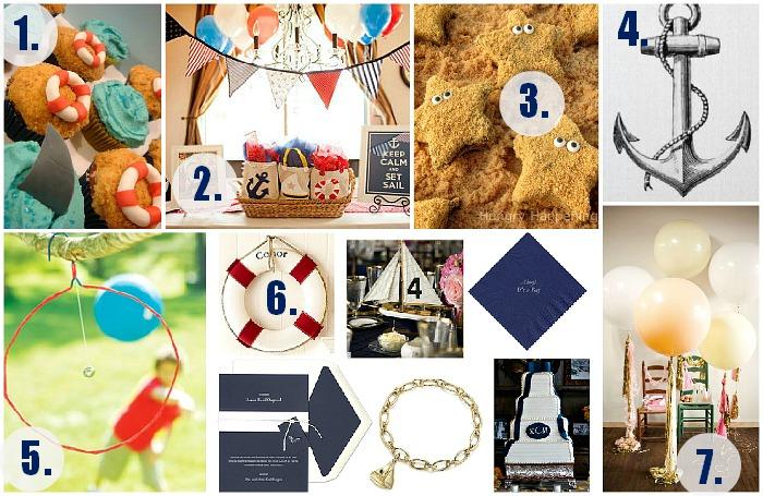 Sally Lee by the Sea Coastal Lifestyle Blog: DIY Nautical Birthday on vintage weddings ideas, vintage diy ideas, vintage bridal shower ideas, vintage county fair ideas,