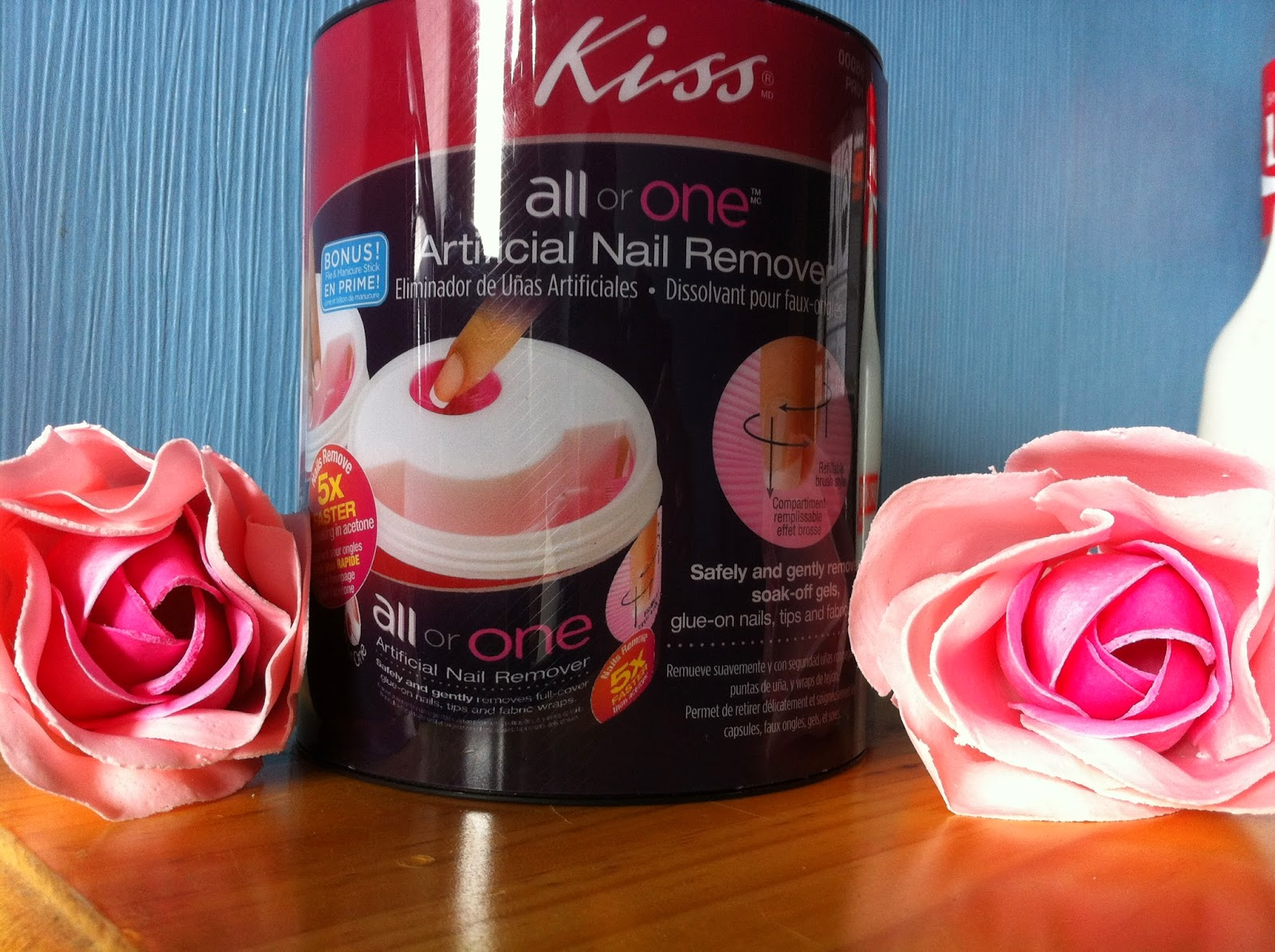 Fashion Happens: Kiss All or one Artificial Nail remover set review