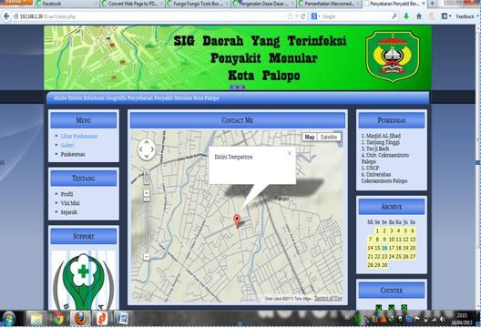 Skripsi Sistem Informasi Geografis