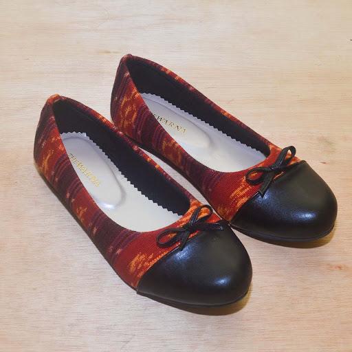 Sepatu The Wana: Jepara Orange