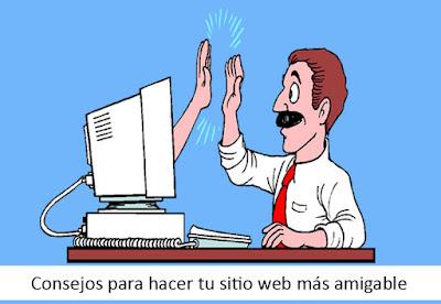 Consejos para hacer tu sitio web más amigable