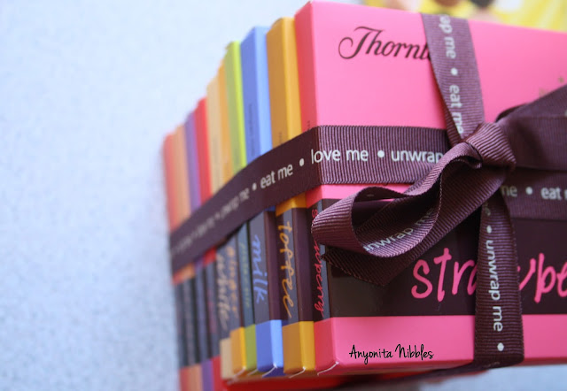A stack of Thornton's chocolate from www.anyonita-nibbles.com