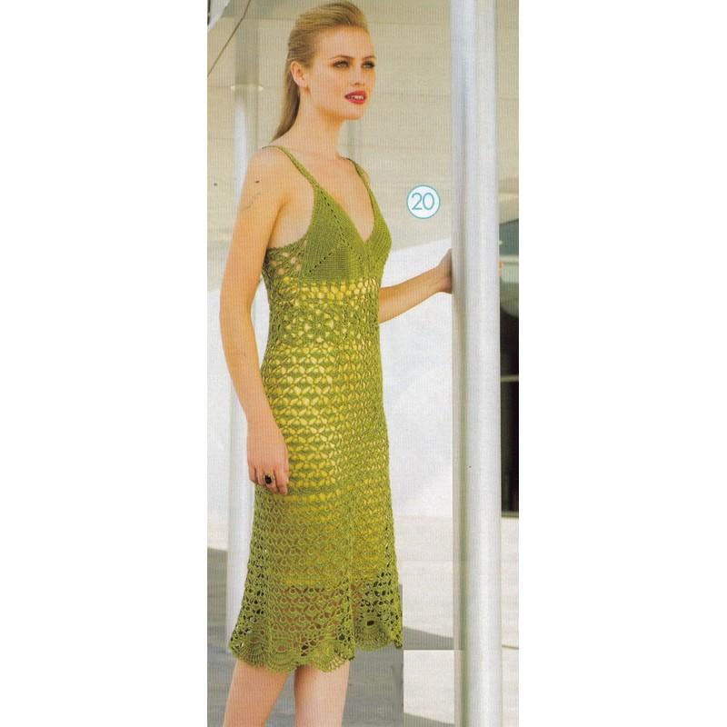Free Crochet Pattern Summer Dress : 2011-07-31 CraftyLine e-pattern shop